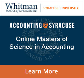 Accounting Programs Syracuse University